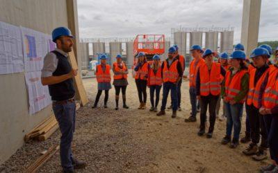 Exkursion der Bauhaus-Universität Weimar zu unserem Bauvorhaben