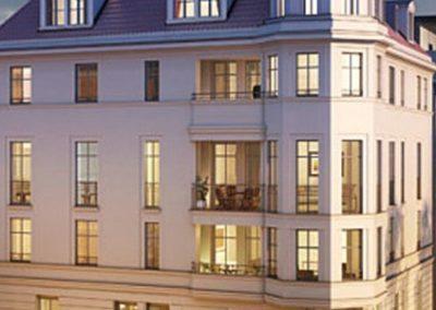 Neubau eines 5-geschossigen Wohnhauses mit Tiefgarage, Stuttgart