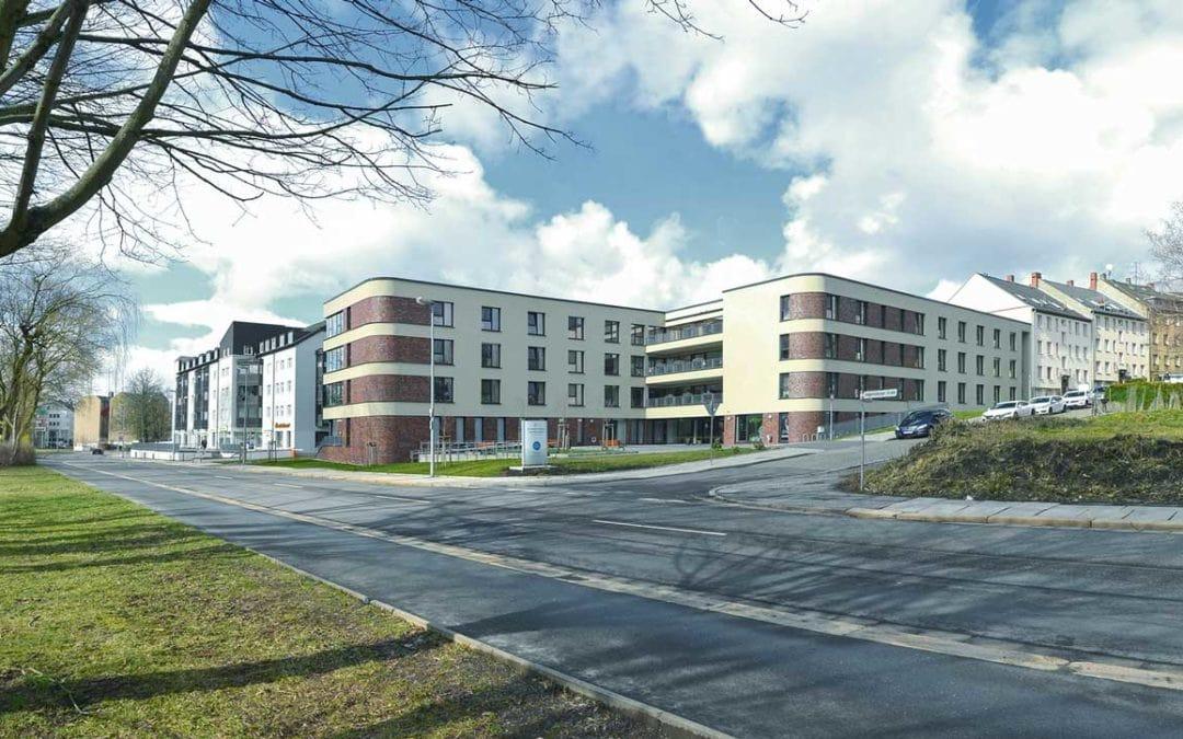 Neubau eines Altenpflegeheims in Chemnitz