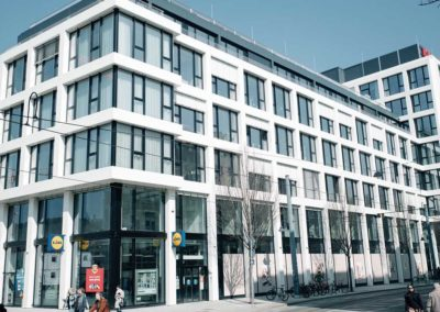 Neubau Büro- und Geschäftsgebäude mit Tiefgarage