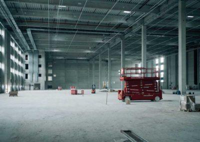 Neubau Logistikzentrum in Zöllnitz