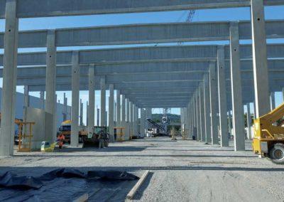 Neubau Produktions- und Logistikgebäude Griesson