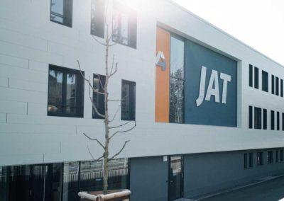 Neubau Produktionsgebäude JAT