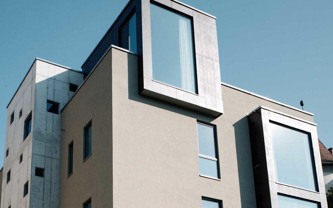 Neubau Mehrfamilienwohnhaus mit Tiefgarage in Brettsperrholzbauweise