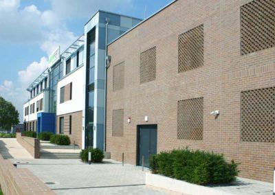 Neubau eines Verwaltungsgebäudes und Rechenzentrums