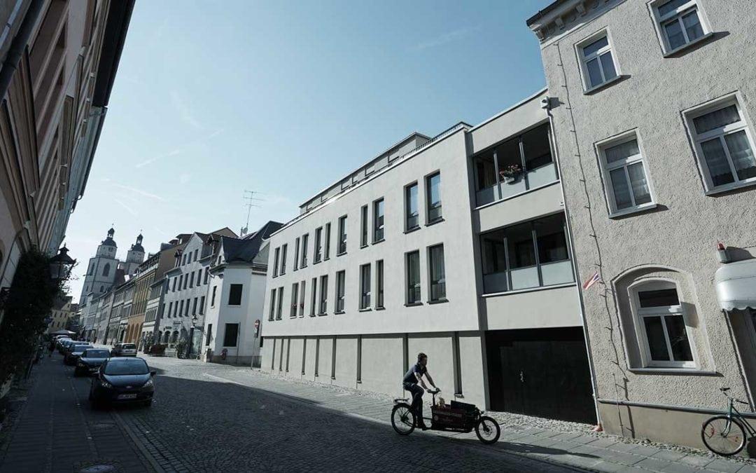 Neubau einer innerstädtischen Wohnanlage – Wittenberg