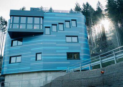 Ingenieurleistungen – Sprungrichterturm in Oberhof